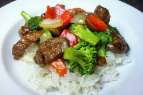 Recipe: Beef Stir-Fry with Bell Peppers